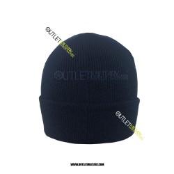 Cappello Tondo Blu in Pile Antipilling POLIZIA di STATO