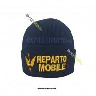 Cappello Tondo in Maglia Blu REPARTO MOBILE