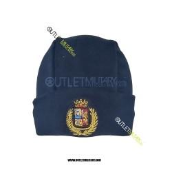 Cappello in Pile Blu POLZIA ARALDICO
