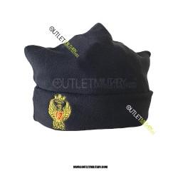 Cappello in Pile Blu POLZIA DI STATO (Forma 3 punti)