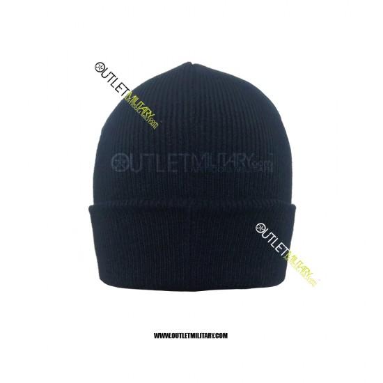 Cappello Tondo in Maglia Blu POLIZIA STRADALE
