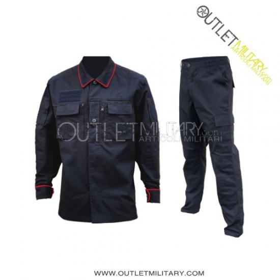 Uniforme Operativo Carabinieri Ripstop con Polyfilo Blu (Mod. Estero)