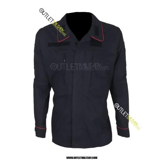 Uniforme Operativa da Ordine Pubblico Carabinieri Ripstop con Polyfilo Blu navy