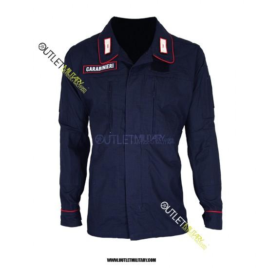 Uniforme Operativa da Ordine Pubblico Carabinieri con scritta ,alamari e scudetto