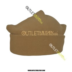 Cappello 3 Punti in Pile Antipilling Tan/Coyote