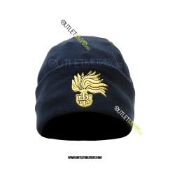 Cappello Tondo Blu in Pile Antipilling CARABINIERI FIAMMA ORO