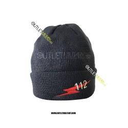 Cappello Tondo in Maglia Blu CARABINIERI 112