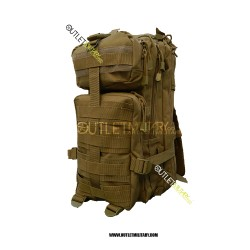 Zaino Militare Tattico Small 30 Litri Coyote TAN