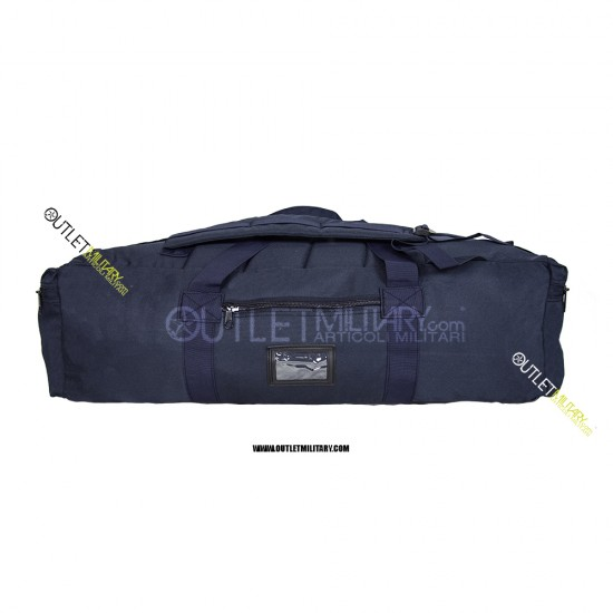 Borsone Militare Zainibile XL 100 Litri con Tracolla blu