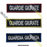 Patch Velcro Guardia Giurata