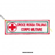 Patch CROCE ROSSA ITALIANA CORPO MILITARE