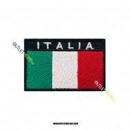 Bandiera Italia Ricamata a Strappo