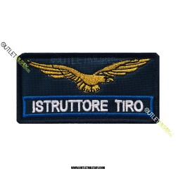 Patch  Guardia Giurata ISTRUTTORE TIRO