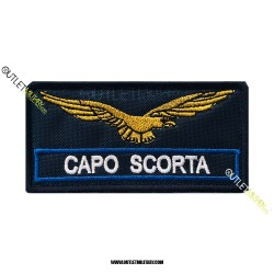 Patch  Guardia Giurata CAPO SCORTA