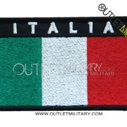 Bandiera Italia Ricamata con Velcro
