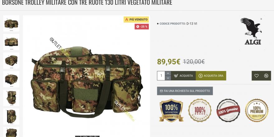 Catalog Carabinieri