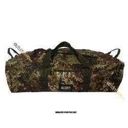 Borsone Militare Zainibile XL 100 Litri con Tracolla Vegetato Militare