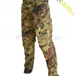 Italian camouflage BDU cotton ripstop with polyfilo