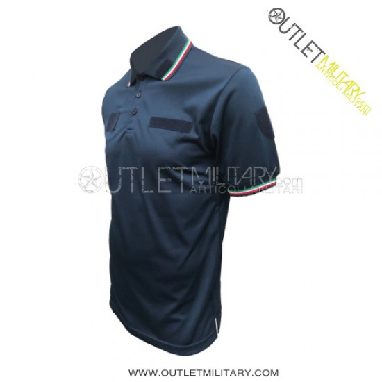 Polo Guardie Giurate Polipropilene Blu Navy