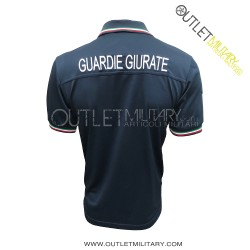 Polo Guardie Giurate Mod. Polipropilene Microfibra Blu Navy