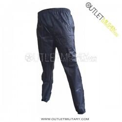 Completo di Giacca e Pantaloni Blu Navy Impermeabile Nylon
