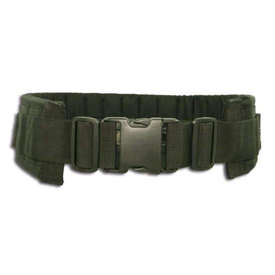 Cinturone Cordura Comfort Imbottito H 9,50 cm Black