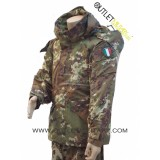 Parka militare vegetato 2011 mod. italiano con interno staccabile