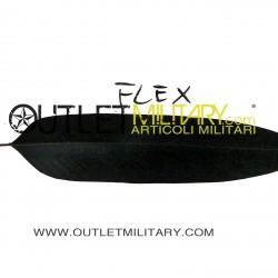 Black feathers flex