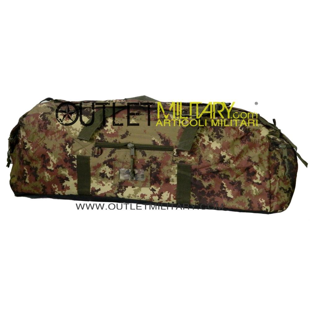 f863378751 Borsone Militare Zainibile XL 100 Litri con Tracolla Vegetato Militare