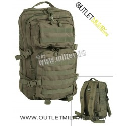 Zaino Mlitare Medium 50 Litri Assault Pack Verde