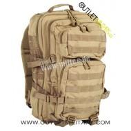 Zaino Mlitare 50 Litri Assault Pack Coyote TAN