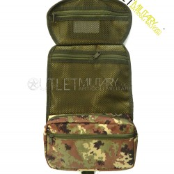 Beauty case bag army camouflage