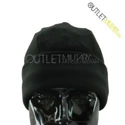 Fleece round cap black