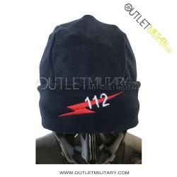 Cappello Tondo Blu in Pile Antipilling CARABINIERI 112