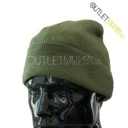 Cappello Tondo in Maglia Verde