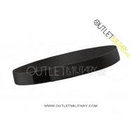 Cintura a strappo H 4 cm con velcro Nero