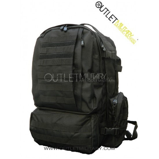 Large bag army black