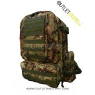 Large bag army camouflage