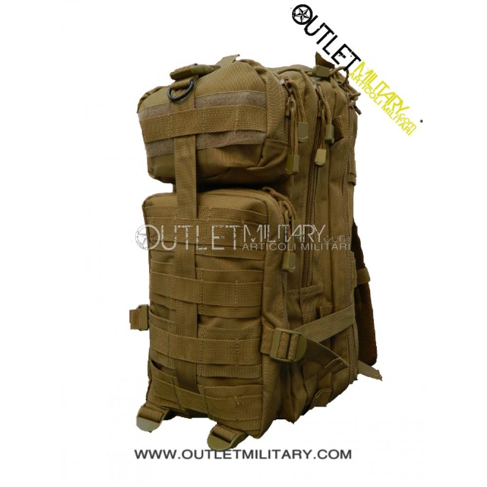 40126038aa Zaino Militare Tattico Small 30 Litri Coyote TAN