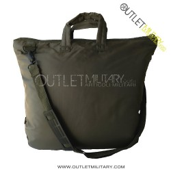 Helmet holder or computer bag Green