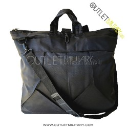 Helmet holder or computer bag black