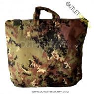 Helmet holder or computer bag army camouflage