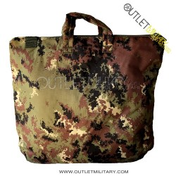 Helmet holder or computer bag army camouflage