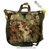 Borsa Porta Casco e Porta Notebook Vegetato Militare