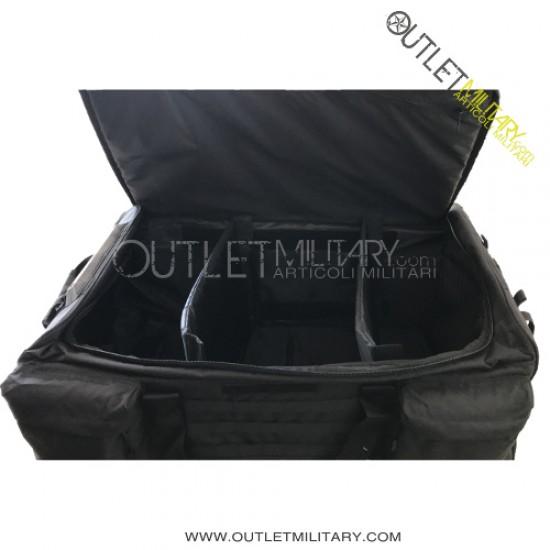 Trolley travel bag 130 liters black