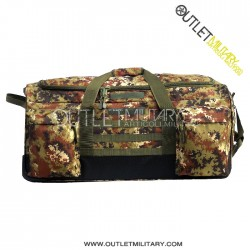 Trolley travel bag 130 liters army camouflage