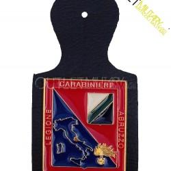 Pendif Placca Pettorale Carabinieri Legione Abruzzo