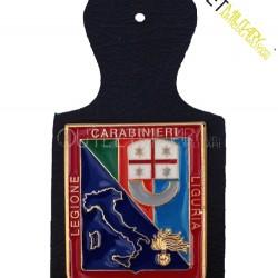 Pendif Placca Pettorale Carabinieri Legione Liguria