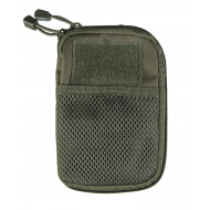 Little bag with multi-purpose system M.O.L.L.E. military green