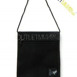 Document holder neck military black
